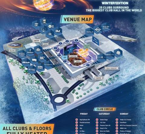 BigCityBeats WORLD CLUB DOME Winter Edition 2018: ++ Die größte, beheizteClubhall der Welt ++ 25 Underground-Clubs ++ 150 Acts ++ 19 Konzerte ++
