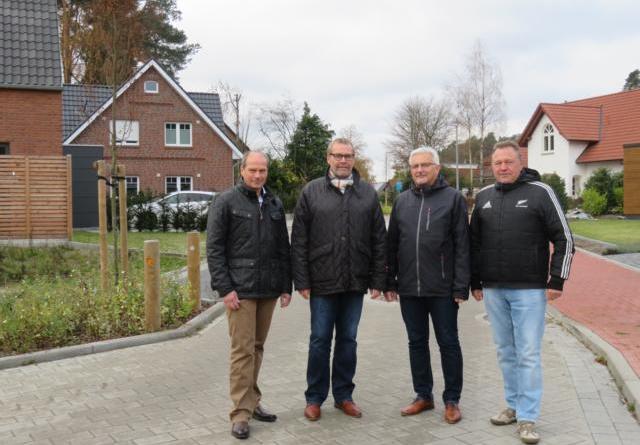 Straßenbaumaßnahmen im Altenlingener Sand abgeschlossen Foto: Stadt Lingen