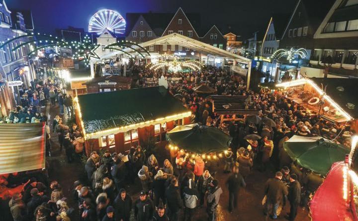 Bitburger After-Work-Party auf dem Meppener Weihnachtsmarkt Foto: Stadt Meppen