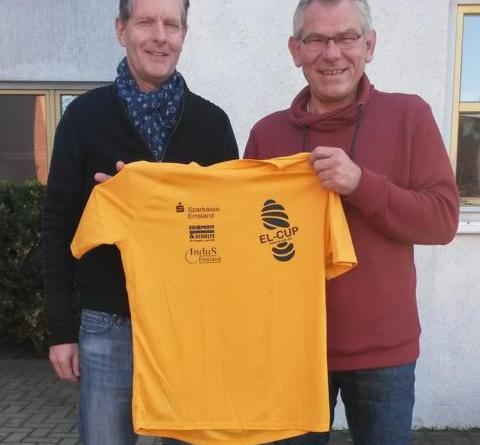 v. l. Die Verantwortlichen Georg Theismann (EL-CUP) und Hermann Plagge (Projekt InduS) setzen die erfolgreiche Zusammenarbeit fort. Foto: KSB