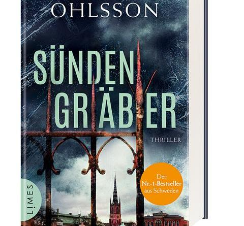 Kristina Ohlsson - Sündengräber - ab heute überall wo es Bücher gibt