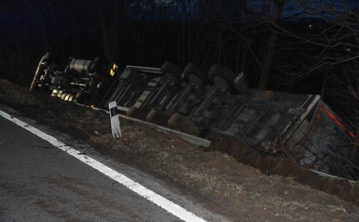 AKTUELL Unfall auf der B 70 zwischen Laxten und Darme Foto: NordNews.de