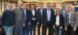 """Die Stadt Lingen hatte die Bürgerinnen und Bürger in Bramsche zu einem Nachbarschaftsdialog im Rahmen des Projektes """"Dorfgemeinschaft 2.0"""" eingeladen. Foto: Stadt Lingen"""