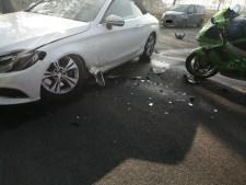 Aktuell Meppen: Schwerer Verkehrsunfall in die Dorfstraße zwischen Schwefingen und Meppen Foto: NordNews.de