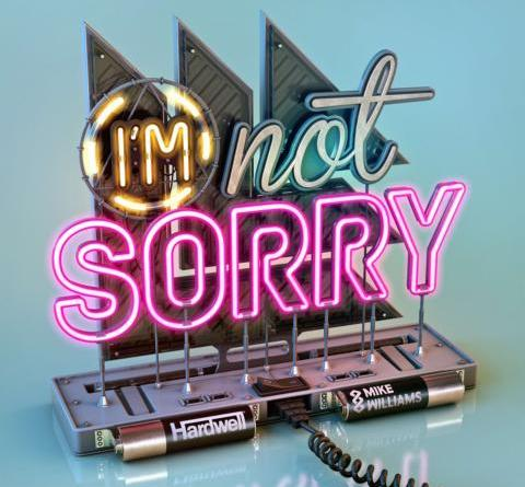 "HARDWELL & MIKE WILLIAMS - I'M NOT SORRY - HARDWELL kündigt Collaboration mit MIKE WILLIAMS an - ""I'M NOT SORRY "" erscheint am 8. März!"
