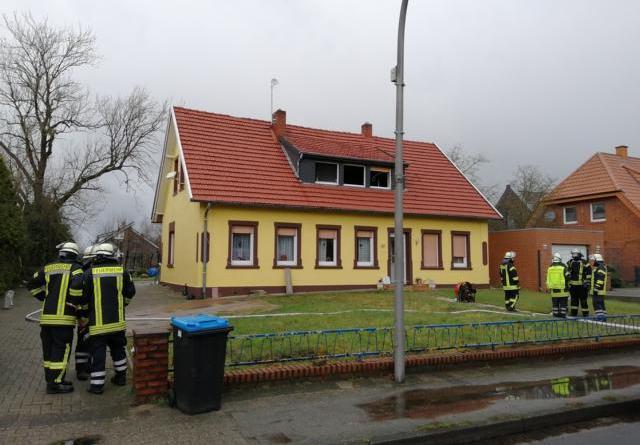 Explosion / Verpuffung in Haren Foto: NordNews.de