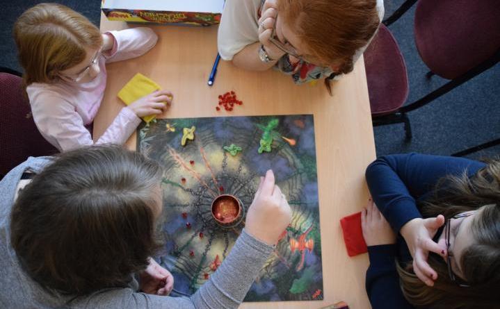 Brandlecht spielt - Spielenachmittag im Gemeindehaus Foto: Stadt Nordhorn
