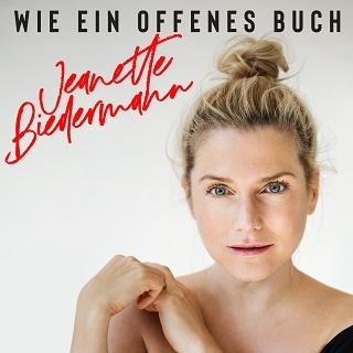 """Jeanette Biedermann – """"Wie ein offenes Buch"""" out now – der erste Track von ihrem neuen Album"""