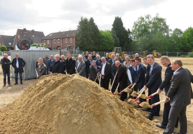 Spatenstich für erstes Projekt der LWB – Lingener Wohnungbau eG - Genossenschaftsanteile für LWB – Lingener Wohnbau eG ab sofort verfügbar