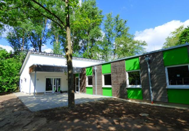 Neues Gebäude für den Stadtteiltreff Stroot - Eröffnung am 1. Juni 2019 - Foto: Stadt Ligen