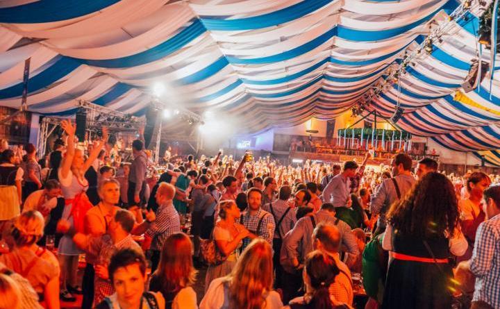 Das Programm beim 13. Münsteraner Oktoberfest