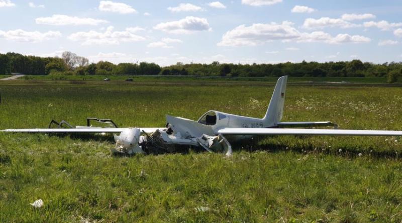 29-jährige bei Flugzeugabsturz in Rhede schwer verletzt