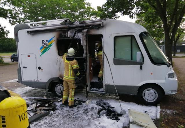 Zwei Fahrzeugbrände in Meppen Nagelshof und Grünlandweg - Foto: NordNews.de