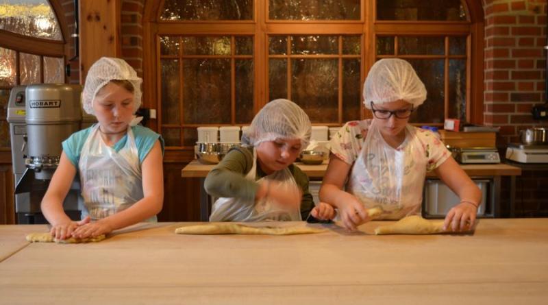 Keksdesigner-Workshop bei der Schulbäckerei Coppenrath. Foto: Jacqueline Woller
