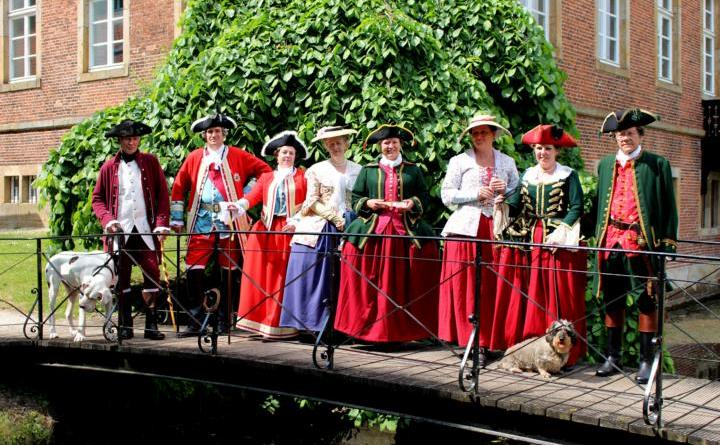 Die Interessengemeinschaft barocke Jagd freut sich schon auf das Bürgerfest auf Gut Altenkamp. Foto: Stadt Papenburg