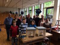 Naturschutzbehörde der Stadt Lingen bietet weiteren Hummelkasten-Workshop an. Foto: Stadt Lingen