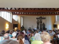 Volle Sitzreihen gab es während des Einführungsgottesdienstes in der St. Johannis- Kirche. Foto: Stadt Haren