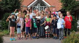 Ferienpassaktion mit der Plattdeutschen Theatergruppe Dalum. Foto: Plattdeutsche Theatergruppe