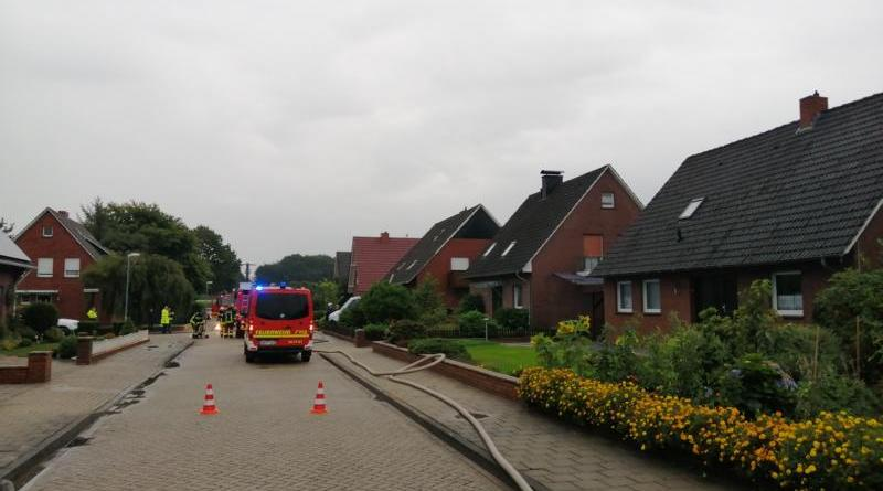 Nordhorn - Schwelbrand im Dachstuhl - Foto: NordNews.de
