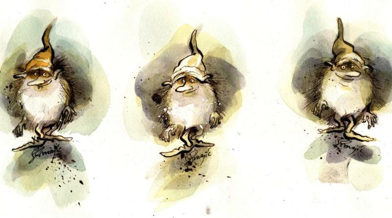 Die Aulken sind kleine Männlein, die seit langer Zeit die Emsländische Region bevölkern sollen. Foto: Kunstschule Zinnober