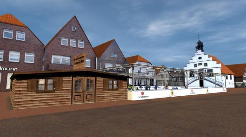 Neues Konzept für Eisbahn auf dem Lingener Weihnachtsmarkt - Foto: Stadt Lingen