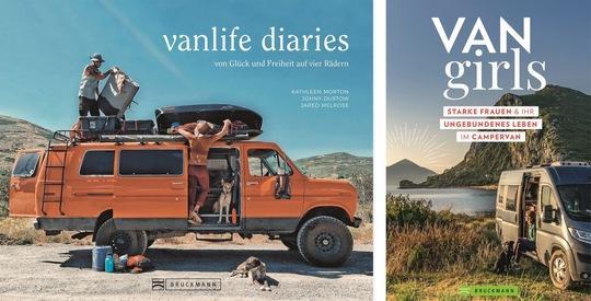 Vanlife Diaries & VANgirls - Zwei neue Bildbände rund um Campervan