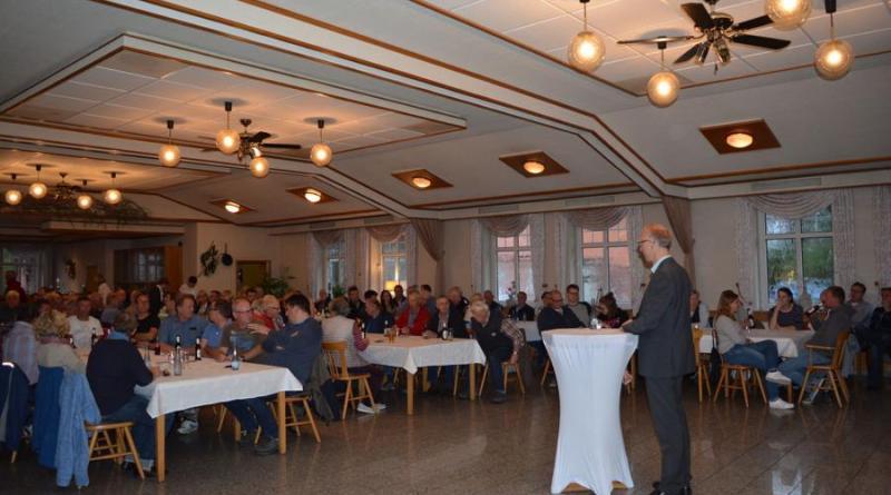 Gut besuchte Bürgerversammlung in Osterbrock - Foto: Gemeinde Geeste