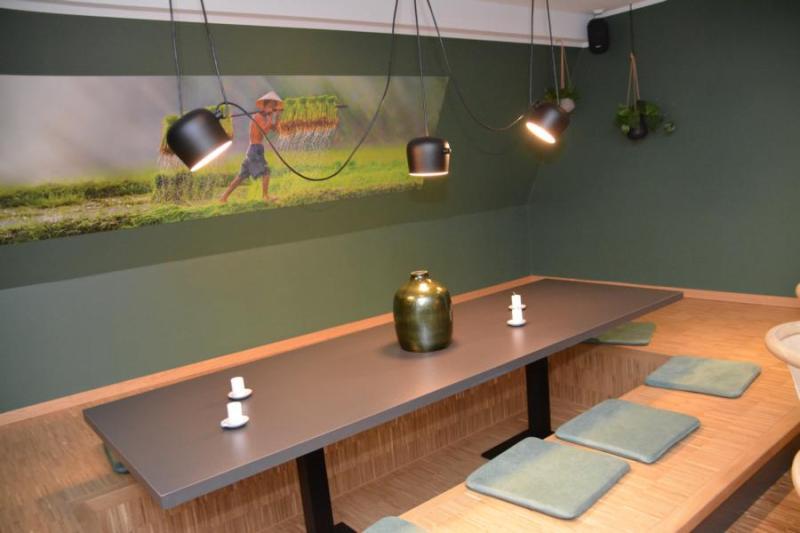 Außergewöhnliche Sitzgelegenheiten im Obergeschoss. Foto: NordNews.de