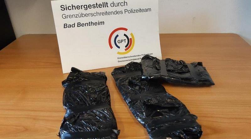 Bad Bentheim - Drogenschmuggler in Untersuchungshaft - Foto: Polizei