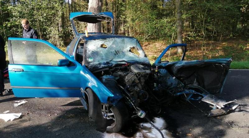 Schwerer Unfall zwischen Bawinkel und Meppen - Foto: NordNews.de
