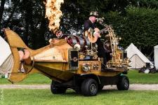Auf dem Steamfest Vol. 2 am 14. und 15. September wird von morgens bis abends wieder Einiges geboten. Foto: Stadt Papenburg