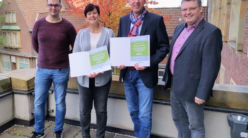 Bürgermeister Berling dankt Wahlhelfenden - Gutscheine unter allen Ehrenamtlichen in Nordhorn verlost - Foto: Stadt Nordhorn