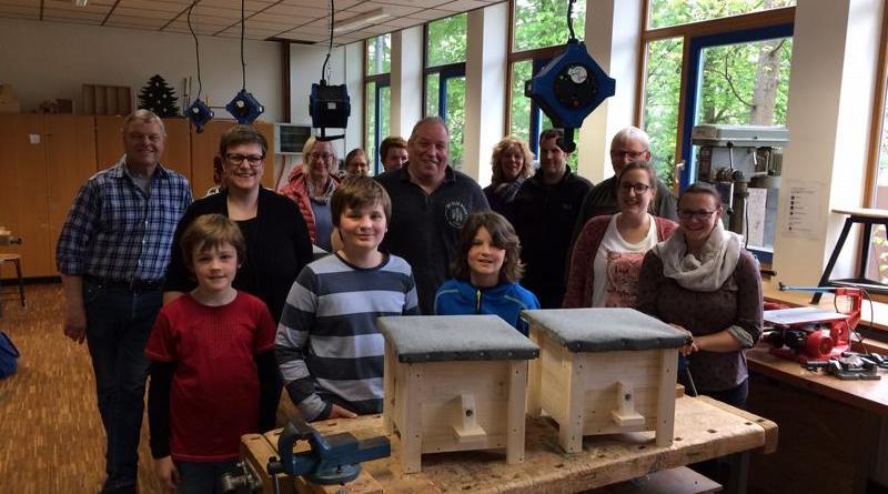 Workshop zum Bau von Hummelkästen - Foto: Stadt Lingen