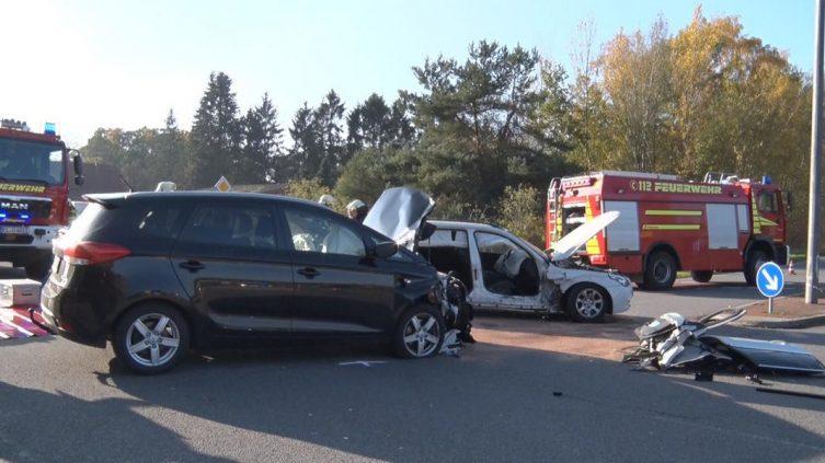 Lingen - eine Person bei Unfall auf der Haselünner Straße verletzt - Foto: NordNews
