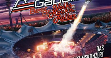 ANDREAS GABALIER mit neuer Live-Best Of auf CD/DVD/Blu-ray am 06.12.