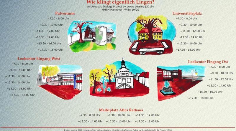 Wie klingt Lingen? - Klanglandschaft bietet akustische Reise durch die Stadt - Foto: Stadt Lingen