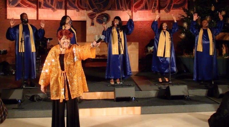 Die BLACK GOSPEL ANGELS mit The Voice-Star Davon Fleming auf Deutschland-Tour - Foto: Petra Heidemann