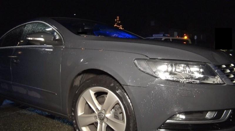 Geeste AKTUELL: Alkoholisierter 19-jähriger fällt in der Raiffeisenstraße vor Auto - Foto: NordNews.de