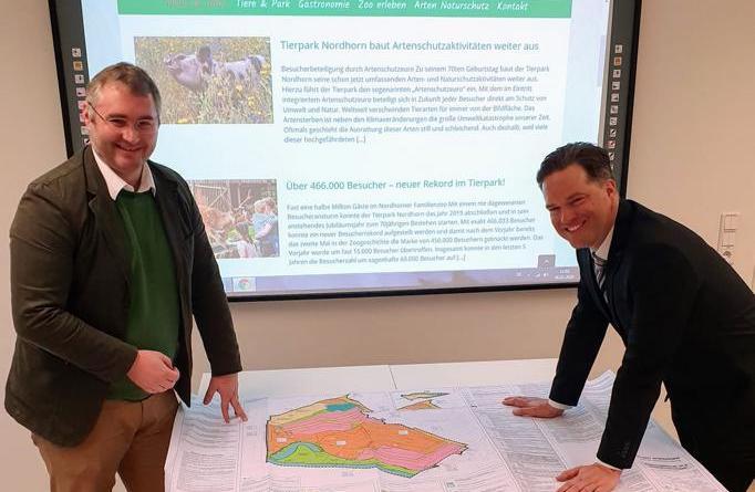 Tierparkerweiterung erhält Planungsgrundlage - Bebauungsplanänderung vom Stadtrat beschlossen - Foto: Tierpark Nordhorn - Tierparkarchiv