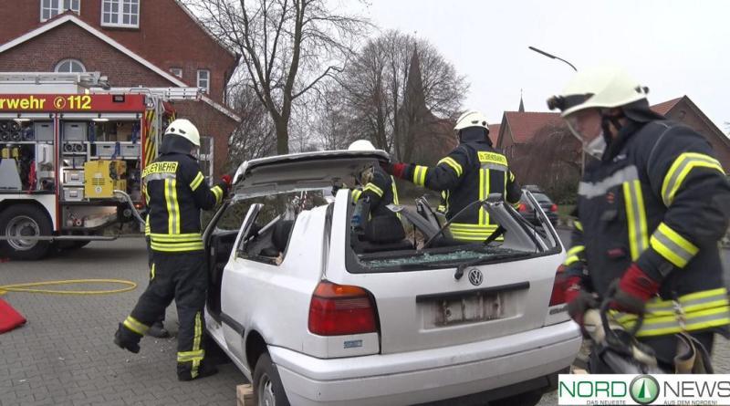 Übung der Ortsfeuerwehr Groß Hesepe - Foto: NordNews.de - Feuerwehr2