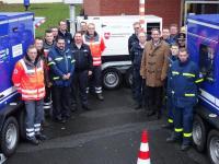 Leistungsstarke Notstromaggregate erhielt das THW vom Landkreis Emsland. (Foto: Landkreis Emsland)