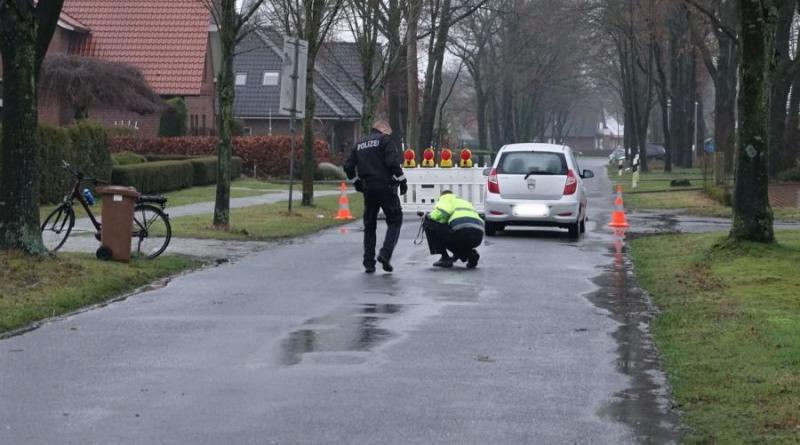 Schwerer Verkehrsunfall auf der Sprakeler Straße. Foto: SG Sögel / Feuerwehr