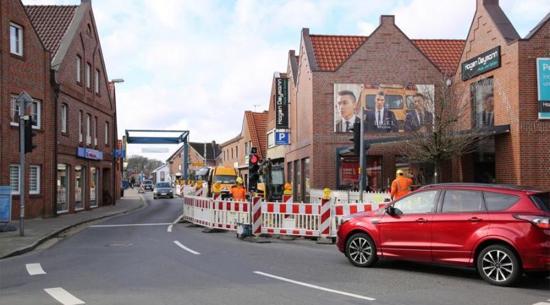 Landegger Straße in Haren teilweise voll gesperrt - Foto: Stadt Haren (Ems)