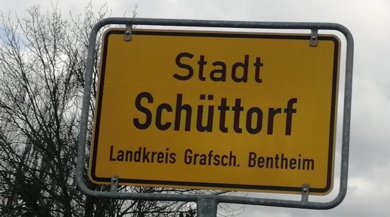 Ortsschild Schüttorf Foto: NordNews.de