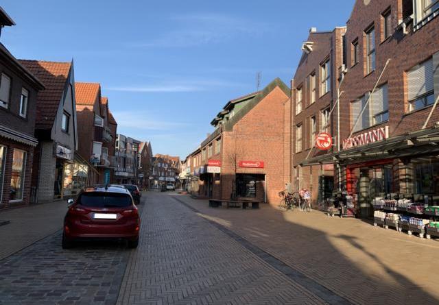 In der Langen Straße in Haren (Ems) kann es ab Freitag zu Beeinträchtigungen im Straßenverkehr kommen. Foto: Stadt Haren (Ems).