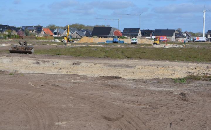 Baugebiet Busacker, 2. Bauabschnitt liegt im Zeitplan. Foto: Gemeinde Geeste