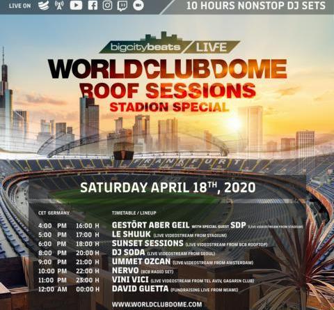 BigCityBeats WORLD CLUB DOME verkündet weltweit erstes Stadion Event in der Corona-Krise