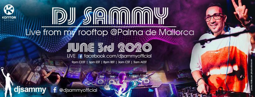 DJ Sammy Live from his Rooftop in Palma de Mallorca - NordNews.de