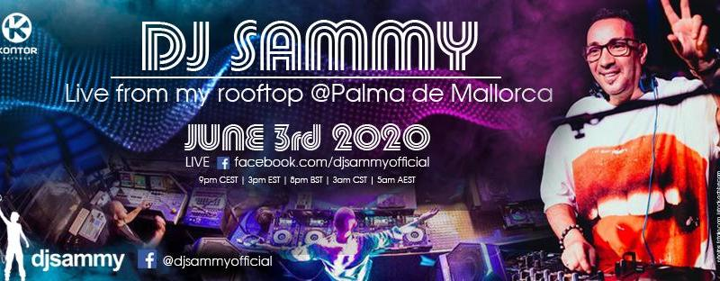 DJ Sammy Live from his Rooftop in Palma de Mallorca