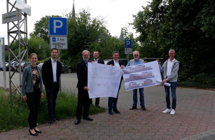 Neubau eines Aldi Marktes am Untenende - Foto: Stadt Papenburg